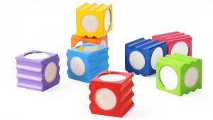 S220 Rainbow Texture Blocks