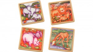 S414A,B,C,D Safari Jigsaws