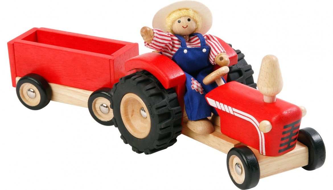 S551L Tractor with Farmer