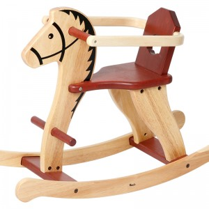 S023H Rocking Horse with Child Guard