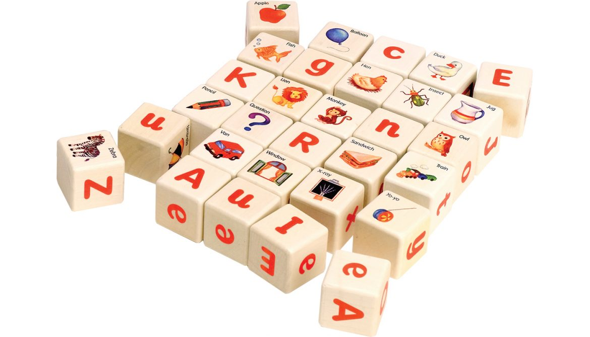 S624 Alphabet Blocks