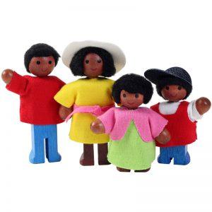 ชุดครอบครัวตุ๊กตาน้อย