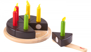 S033M Chocolate Cake with Candles 2