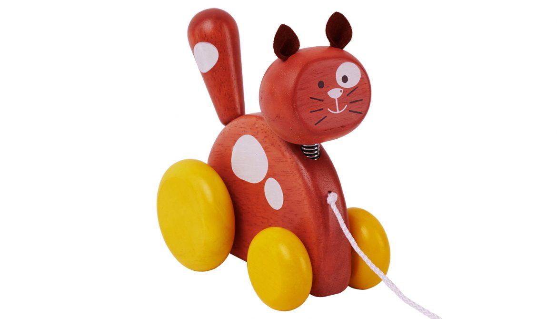 S110Q Pull-Along Pet (Cat)
